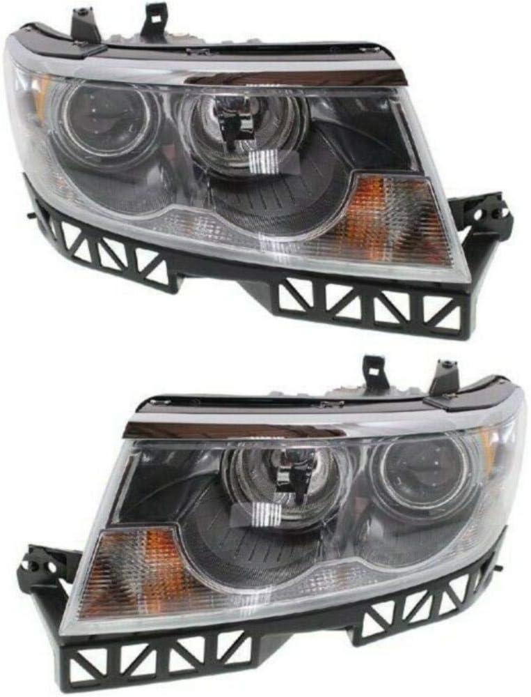 IINAWO Lowest price challenge Headlight Set Compatible with 2006Base Daily bargain sale Sedan Base 2006Pre