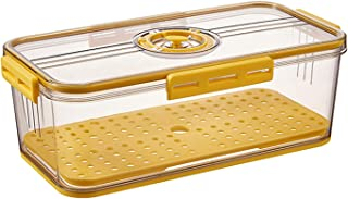 Kylskåp förvaringsbox genomskinlig lufttät mat färsk behållare multifunktionell kylskåpsförvaring för hemmakök