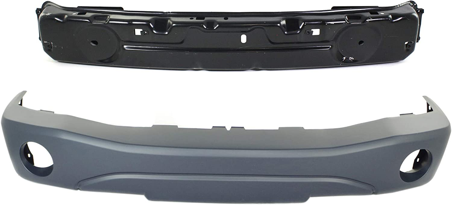 Evan-Fischer Front Bumper Reservation Cover Compatible 2004-2006 with Max 59% OFF Dodge