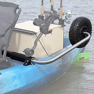 Boonedox Groovy Landing Gear Kayak Wheel System Sloped