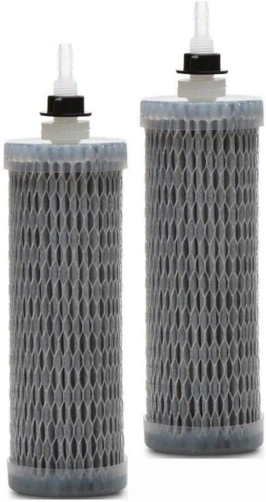 Virus Sagan Life DuraFlo Replacement Filter for AquaBrick Water Purification System Protozoan Lead FILTER ONLY Removes Bacteria Purifies Tap Water; Works With Gravity Fed Water Filters