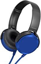 MAGBOT Extra Bass 2 0 On Ear Headphones with Tangle Free Cable 3 5mm Jack Headset with Mic for Phone Calls Multicolour