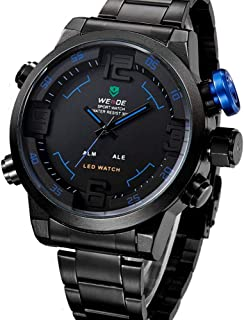 Weide Military for Men Analog Stainless Steel Watch
