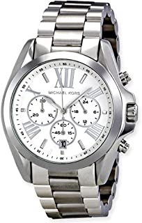 Quartz Silver Dial Men's Watch MK5535