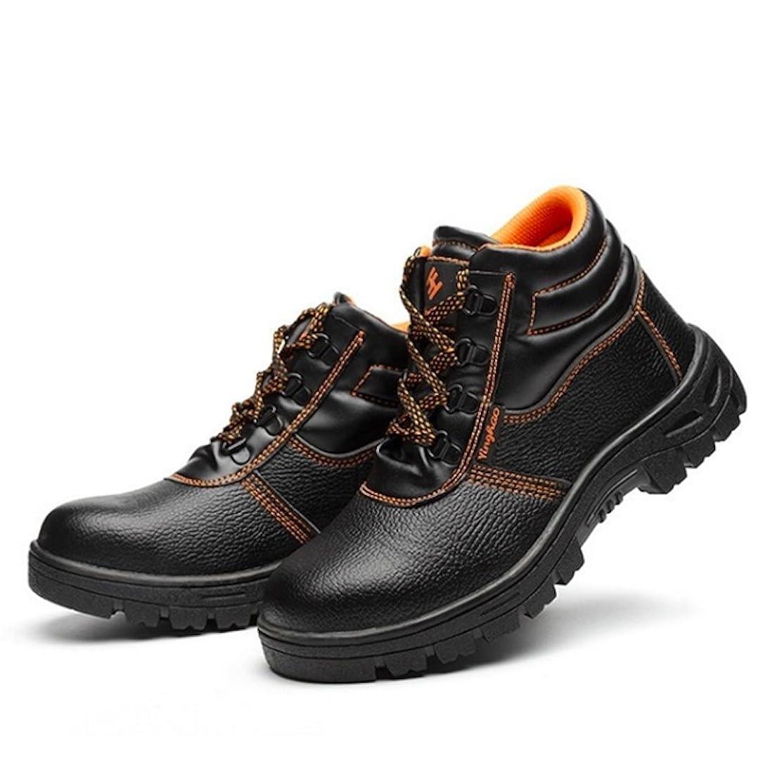 無効にする噴出する子猫MS3 ガレット デ ロワ (galette des Rois) ローカット ハイカット 釘 防止 安全靴 作業靴 メンズ 先芯入り スニーカー ブーツ シューズ 靴 耐油 防滑 踏み貫き
