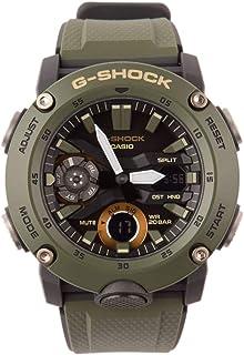 Men's Casio G-Shock Analog-Digital Carbon Core Guard Olive Green Watch GA2000-3A