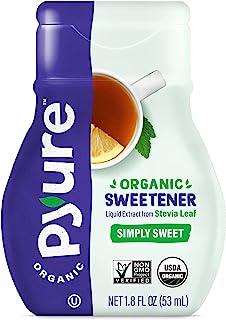 Pyure Organic Liquid Stevia Extract Sweetener, Simply Sweet, 1.8 Fl Oz