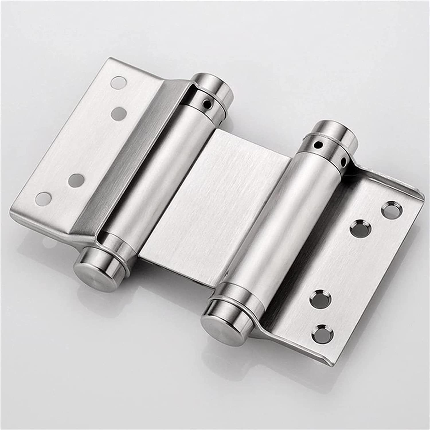 VEIGOU Sturdy Free Door Stainless Two-Way Steel Max 49% OFF Inn San Diego Mall Spring Hinge