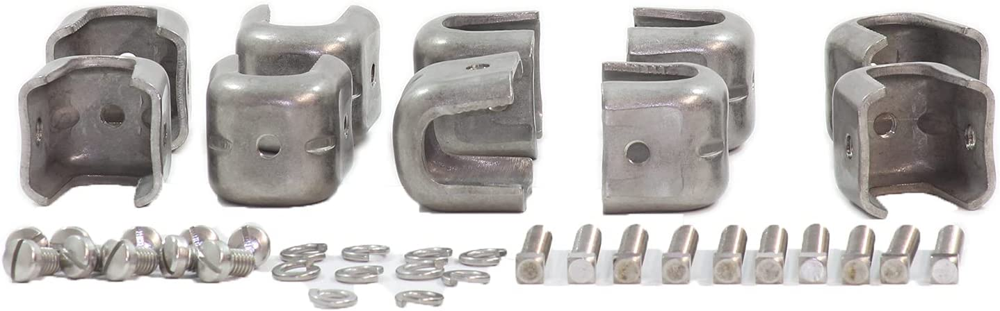 Commscope 294572 I-Line Angle cheap Fashion Adapter 1 3 8 Tapped pkg Inch with