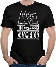 Men's Fun Hide And Seek Champion Bigfoot Yeti 2016 Tee Shirt