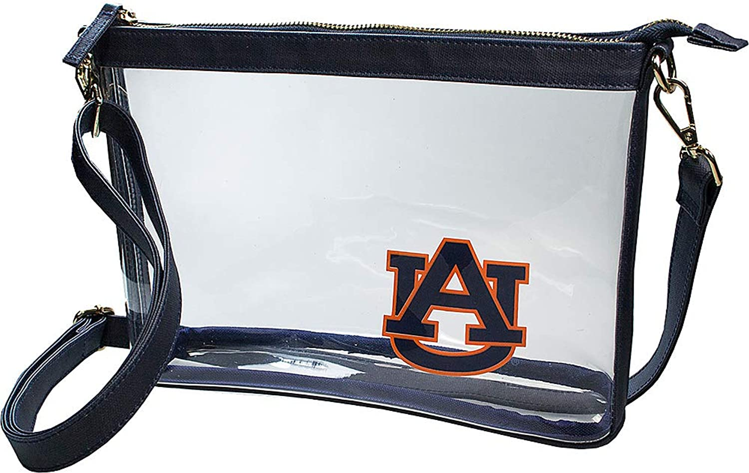 Capri Designs Clear Large Crossbody Bag Stadium Approved  AU Tigers