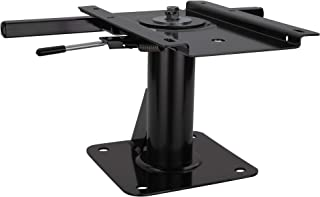 RecPro RV Pedestal Captains Chair | Mounting Base | Driver and Passenger Chair (1 Base, 7