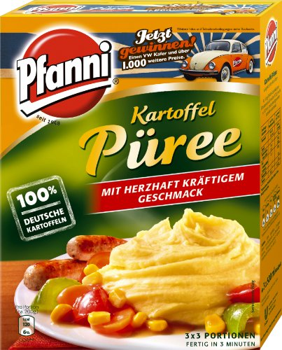 Pfanni Kartoffel Püree, 3 Beutel, 1,5l