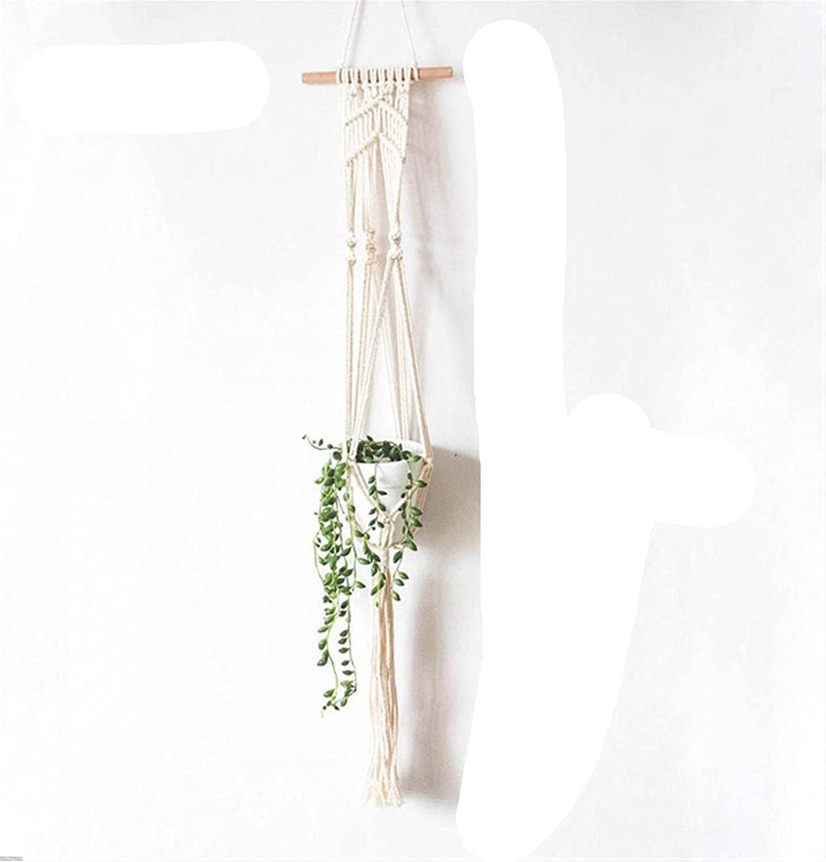 VEIGOU Handmade Macrame Plant Hanger Tray Holder Pot Outlet ☆ Free Shipping Han gift