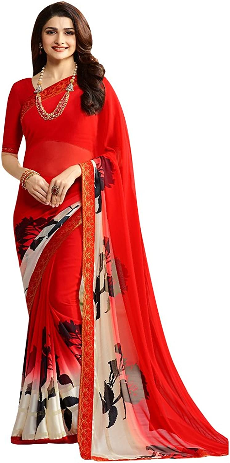 Bollywood Party Wear Collection Saree Sari Ceremony Bridal Wedding 666 2