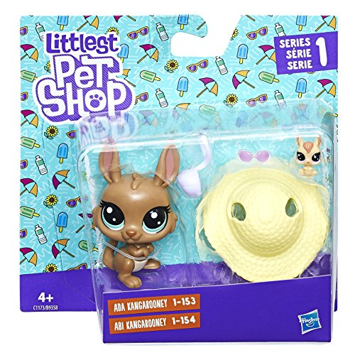 Littlest Pet Shop Littles Pep Parejas Con Accesorios Hasbro B9358EU4, surtido: modelos/colores aleatorios