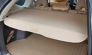 Auto Accessories Dealer Beige Retractable Tonneau Trunk Privacy Cargo Cover for 2012 to 2016 Honda CRV
