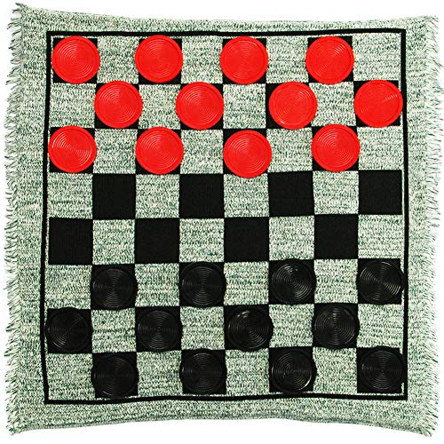 Our #2 Pick is the Lulu Home Jumbo Checkers Set