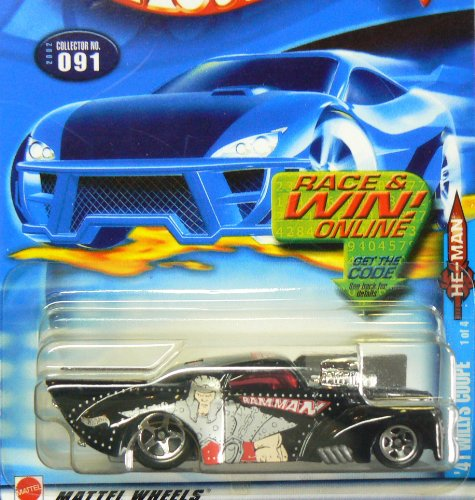 Hot Wheels 2002-091 '41 Willys Coupe 1 of 4 He-man 1:64 Scale by Mattel