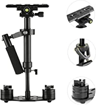 SUTEFOTO S40 Handheld Stabilizer Steadicam Pro Version for Camera Video DV DSLR Nikon Canon, Sony, Panasonic with Quick Release Plate (Black)