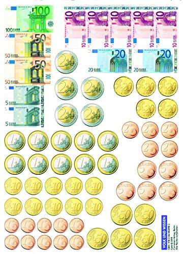 Mathefreunde - Nord/Süd - alle Ausgaben: 1./2. Schuljahr - Rechengeld: Kartonbeilagen. 10 Stück im Beutel (Mathefreunde / Ausgabe Nord/Süd 2010)