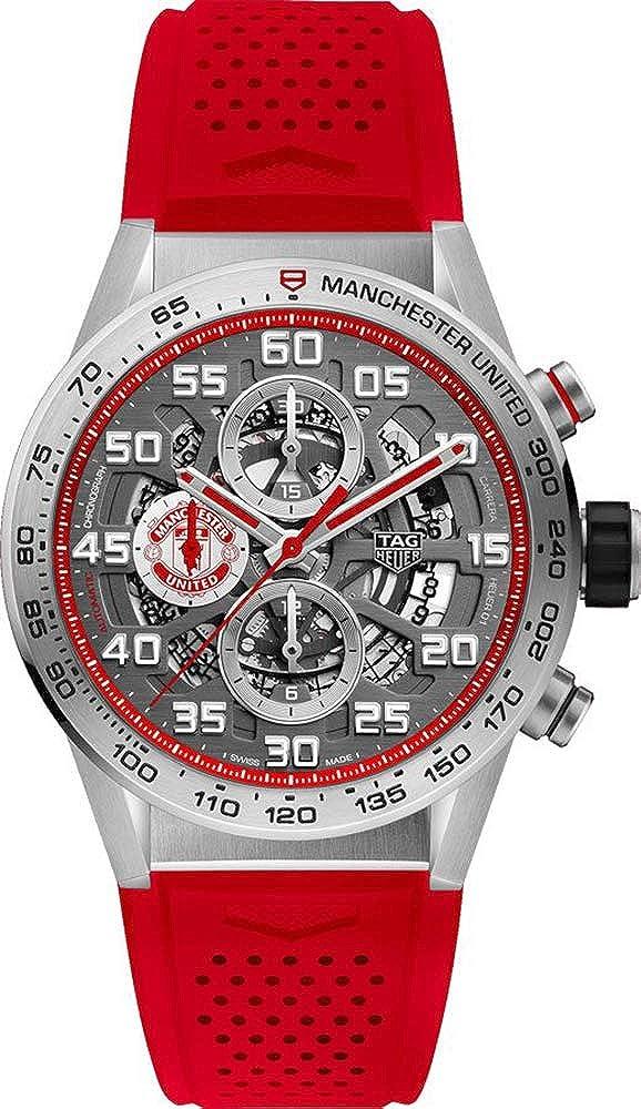 Tag heuer carrera manchester united special edition cronografo automatico CAR201M.FT6156