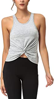 TimesBeauty Tank Tops for Women Cute Workout Shirts Sleeveless Yoga Tops Gym Clothes Fitness Activewear