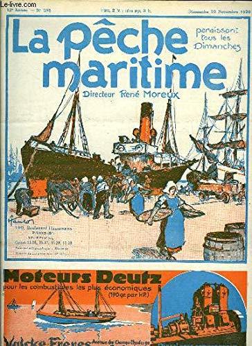 La Pêche Maritime. 12ème année - N° 598 : L'enseignement de la pêche dans les écoles - Nouvelles recherches sur le thon rouge ...