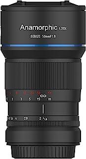 SIRUI 50mm F1.8 1.33X Anamorphic Lens for E Mount