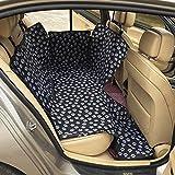 FREESOO Sedile per animali domestici impermeabile copre l'amaca per il sedile posteriore con regolazioni universali per tutte le auto