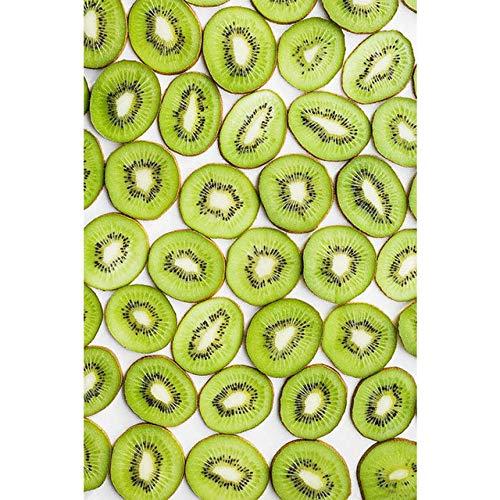 YAZHIQT Canvas Picture Print,Nordic Minimalist Hd Plant Fruit Kiwi Pictures Gezond Voedsel Canvas Fruit Schilderijen Keuken Posters Restaurant Woonkamer Huisdecoratie Geen Frame 70x100cm No frame
