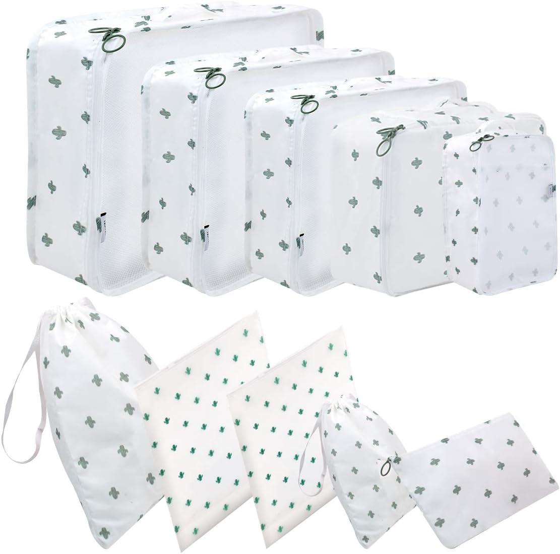 Packw/ürfel f/ür Koffer 10 Gr/ö/ßen Koffer Organizer Taschen 10 St/ück