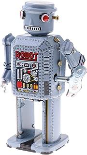 Jouets Mécaniques Anciens Robot Panda en Métal Collection Cadeau Enfant