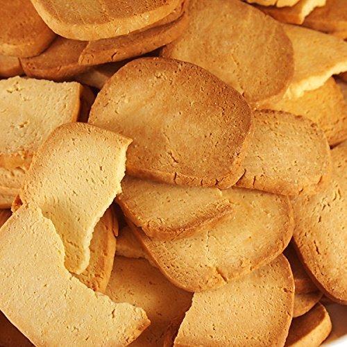 com (訳あり)固焼き☆豆乳おからクッキープレーン約100枚1kg×2セット 1005633