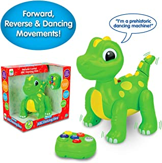 The Learning Journey Early Learning - Remote Control ABC Dancing Dino - Toddler Toys & Gifts for Boys & Girls Ages 2+ years and Up - Award Winning Toy