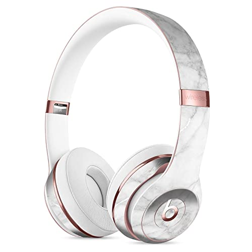 White Scratched Marble DesignSkinz Full-Body Skin Kit for The Beats by DRE  Solo 3 5805c342a