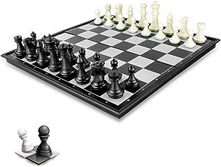 Toudorp チェスセット マグネット 折りたたみ おもちゃ 楽しめる ボードゲーム 教育 脳トレーニング 知能開発 収納 便利 学生用