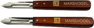 Marsvogel Solingen Set de 2 cuchillo para pelar patatas, mango de madera