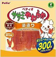 (まとめ買い)ペティオ ササミやわらか 姿造り 300g 犬用 【×5】