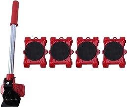 Fransande Gereedschap voor het uittrekken van meubels, transportschuif voor zware trucs, rol met 4 wielen met 1 set stangen.