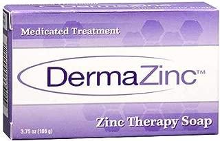 DermaZinc Zinc Therapy Soap, 4.25 Ounce (120 gram) Per Bar - 6 Pack