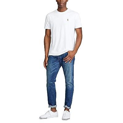 Polo Ralph Lauren Big & Tall Big Tall Short Sleeve Soft Cotton T-Shirt (White) Men