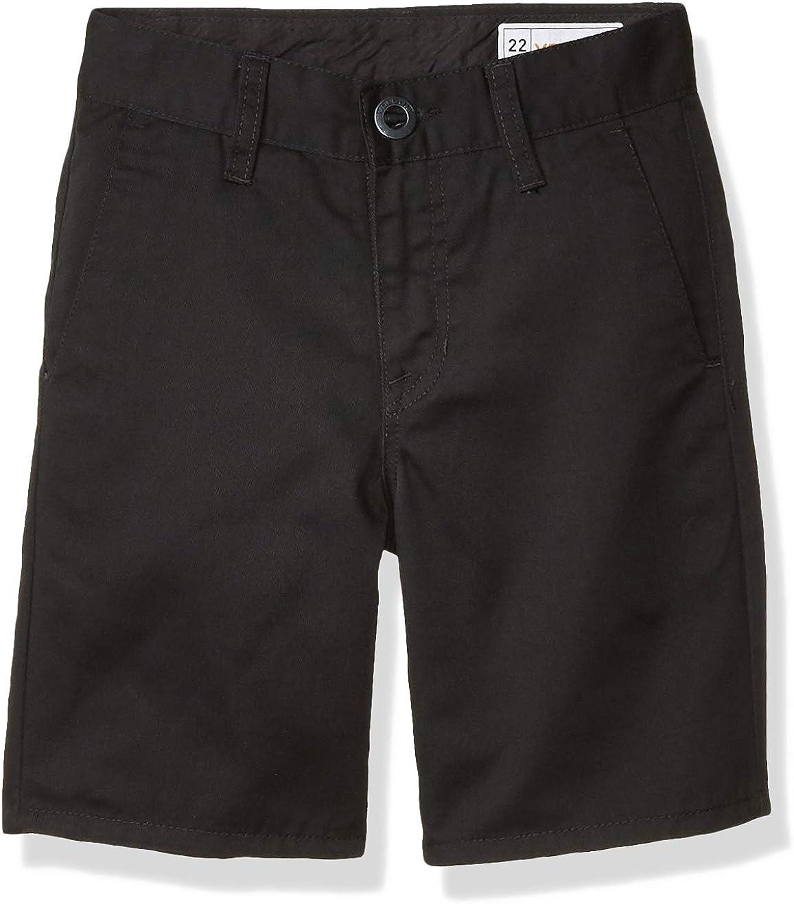 Volcom Boys' Frickin Cotton Twill Chino Short (Big Boys & Little Boys Sizes)