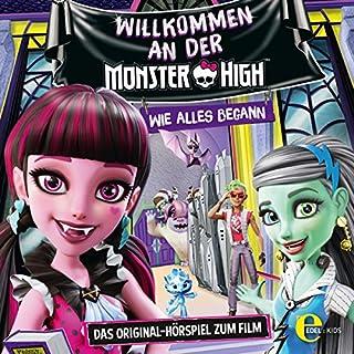 Willkommen an der Monster High. Das Original-Hörspiel zum Film Titelbild