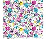 Multi Farbe Floral Ballerina Schleifen Bunte Blumen 100%