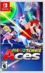 A new Mario tennis game is bringing a new level of skill and competition to the Nintendo Switch system Mario steps onto the court in classy tennis garb for intense rallies against a variety of characters in full blown tennis battles New wrinkles in t...