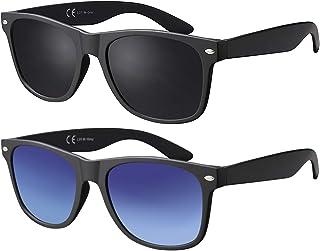 La Optica B.L.M. - Gafas de Sol UV400 CAT3 Hombre Muje Vintage