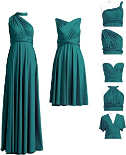 short convertible bridesmaid dress