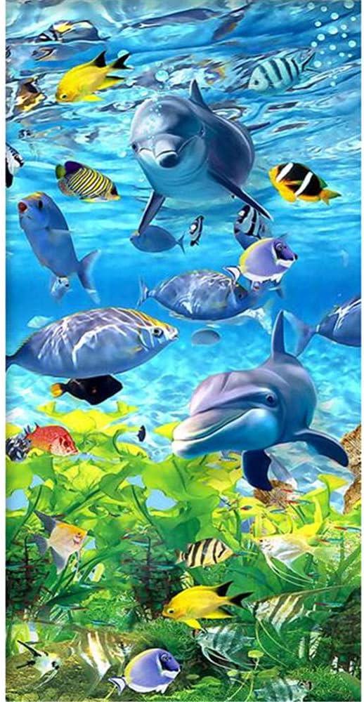 5D DIY Diamond Painting Kits Cheap sale World Wholesale Drill Undersea 100x200cm Full
