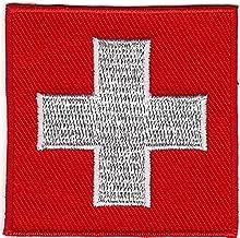 Swiss Flag Insignia Switzerland Ski Patrol Patch Iron on Sew on